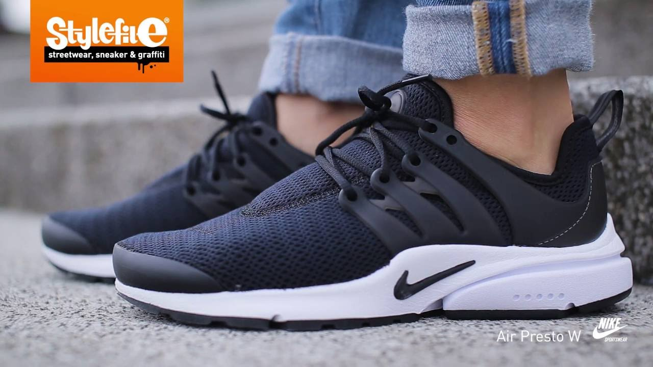 Blackon Air Sneaker Nike Feetstylefile Women Youtube Presto 9WHIED2