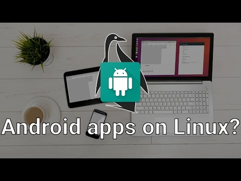 Native Android apps on Linux? Anbox