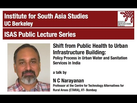 Shift from Public Health to Urban Infrastructure Building