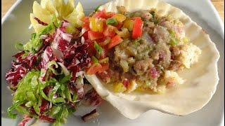 Baked Chopped Clams Casino Style With Brie