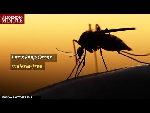 Let's keep Oman malaria-free