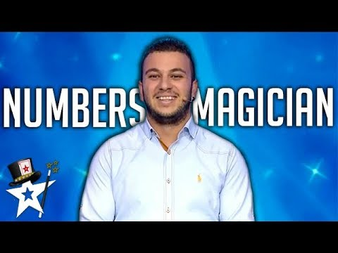 Numbers Magician Shocks Judges With Card Magic on Greece Got Talent | Magicians Got Talent