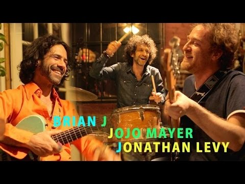 "Jojo Mayer + Jonathan Levy- ""Steppin' Heavy"" -Jamming With J- Real Garage Jam- EP. 22"