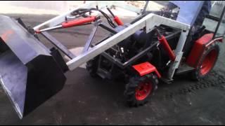 Mini tur traktor pierwsza próba