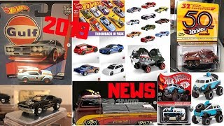 Hot Wheels 2019 Car Culture, New Cars, Convention Cars,... Hot Wheels News!