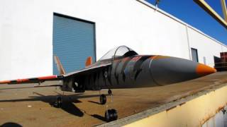 F/A-18C Tiger Jet - Hottest 4-Ch Brushless RC Aircraft