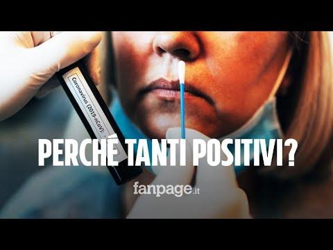 Coronavirus Italia: perché ci sono così tanti positivi? ecco la spiegazione