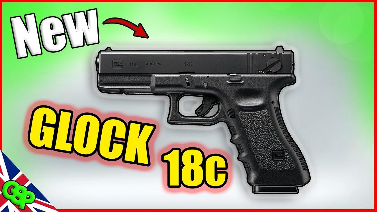 New G18c Airsoft Glock 18c by Umarex / VFC Shot Show 2019