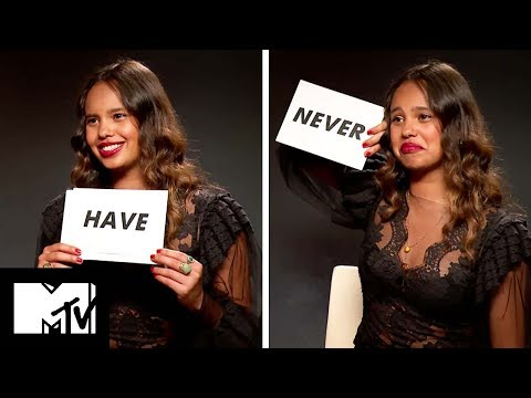 13 Reasons Why Star Alisha Boe Plays NEVER HAVE I EVER! | MTV Movies