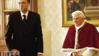 The books of knjige - Filip Vujanovic u posjeti Papi