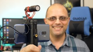 Movo Mini Vloging Rig With Directional Microphone (Testing With The Galaxy S9/S9+)
