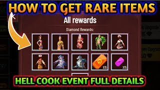 How to get rare items from hell cook event || Hell cook event full details || MG MORE