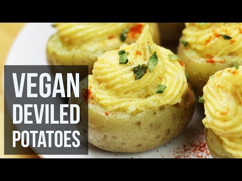 Vegan Deviled Potatoes | Easy Appetizer Recipe by Forkly
