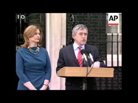 Gordon Brown resigns as UK Prime Minister