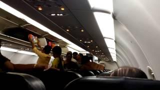 Tiger Airways Boarding Hectic