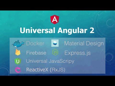 แนะนำคอร์ส Universal Angular 2