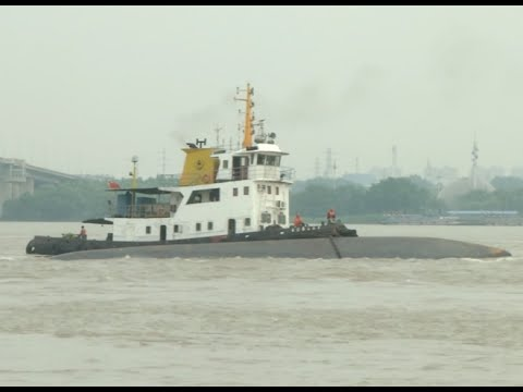 Cargo Ship Capsizes in Yangtze River, 2 Missing