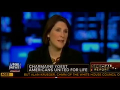 Dr Charmaine Yoest On Fox News To Discuss Morning After Pill