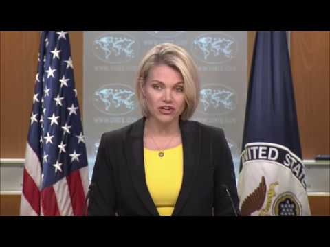 Department Press Briefing with Spokesperson Nauert - May 22, 2018,WASHINGTON,UNITED STATES, 05.22.18