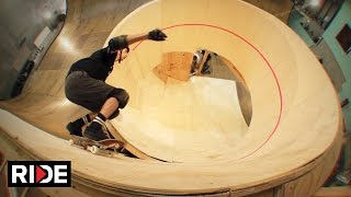Tony Hawk Skates First Downward Spiral Loop - BTS