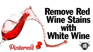 Remove Red Wine Stains, MAN VS. PIN #3