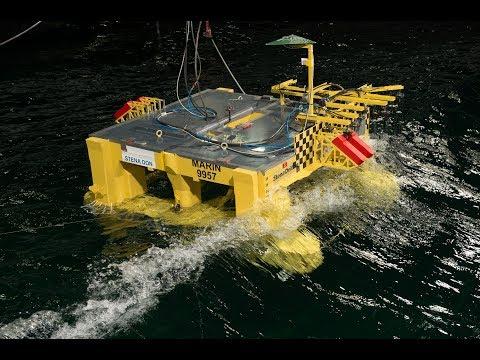 Stena Don - Offshore Basin Model Testing