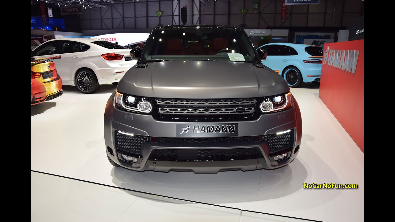 2015 Range Rover Sport wide body By Hamann 2015 Geneva Motor