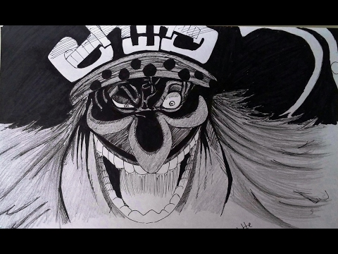 Drawing Charlotte Linlin シャーロット・リンリン, Big Mom one of the four emperors (Yonko) from One Piece