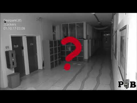 School Ghost Caught On CCTV Camera (commentary)