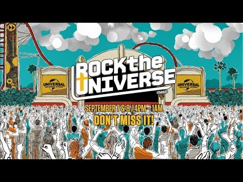 Rock the Universe 2018 at Universal Orlando Resort