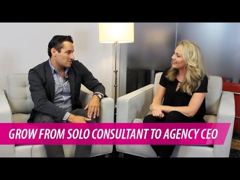 How to Grow from Marketing Consultant to Successful Agency CEO