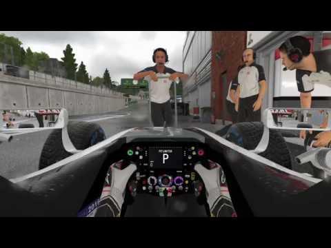 F1 2016 AOR Reserve S12 R13 Belgium