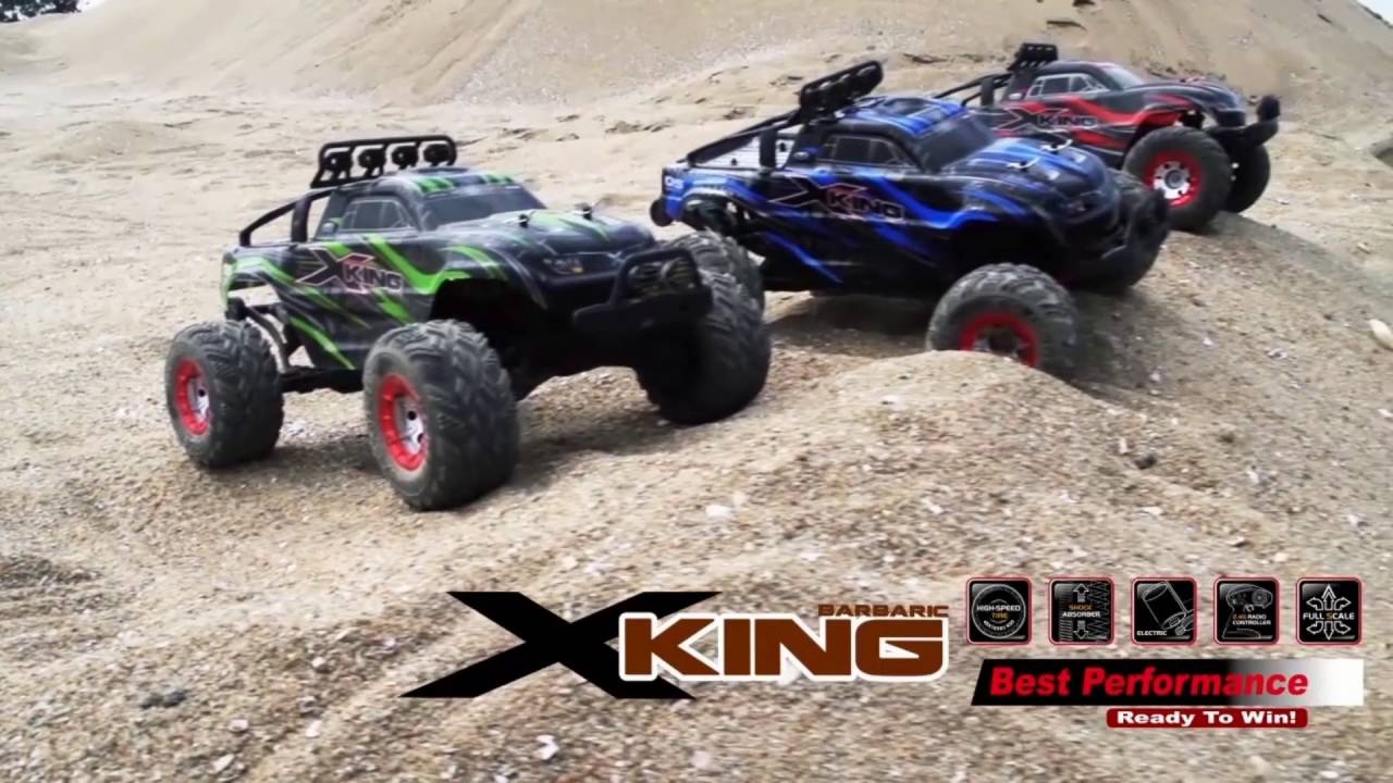 Xking Series Electric Powered High Performance Rc Car Edition From