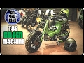 Modified Honda Chaly CF70 | The Green Machine |