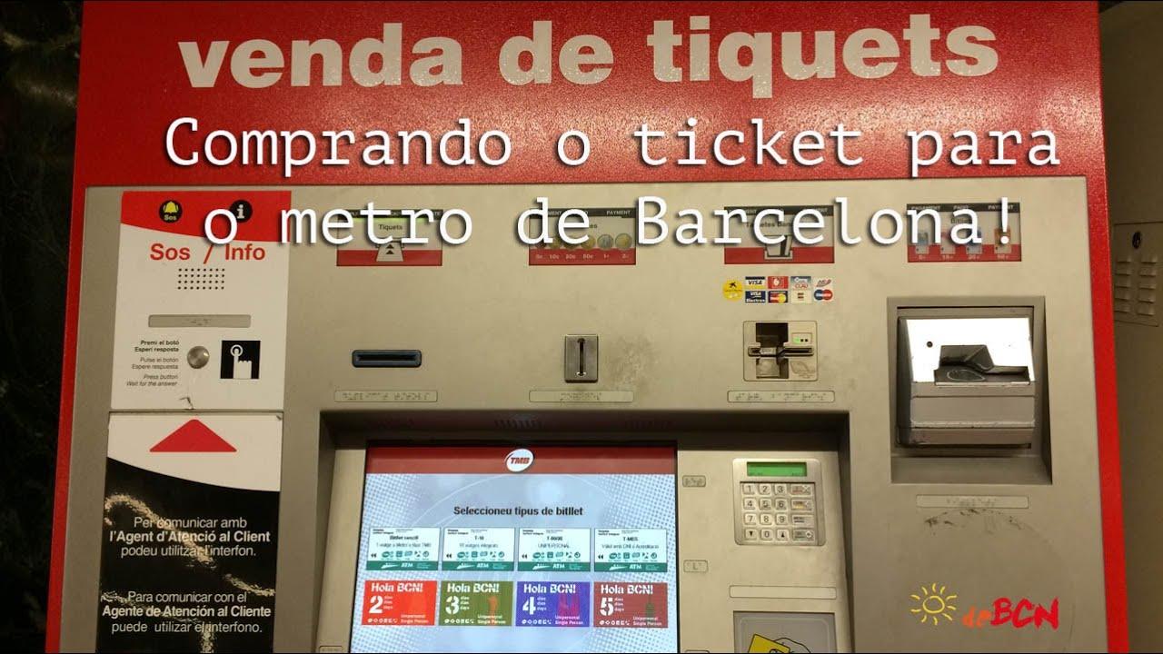 how to buy tickets barcelona metro