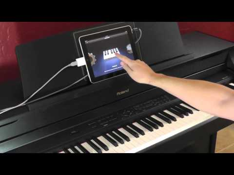 Using Roland Digital Pianos with the Apple iPad