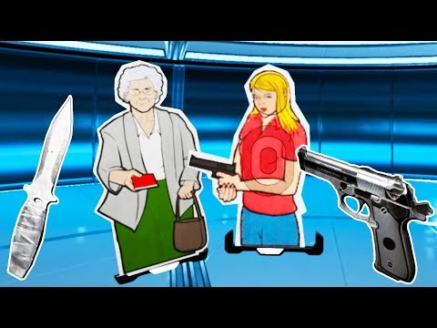 I Saved Grandma With My Amazing Aim in Lethal VR! |