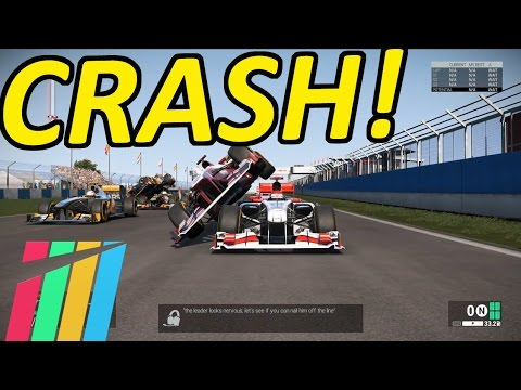 Biggest Crashes, Fails & Glitches on Project CARS |