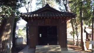 中瀬天祖神社---東京都杉並区
