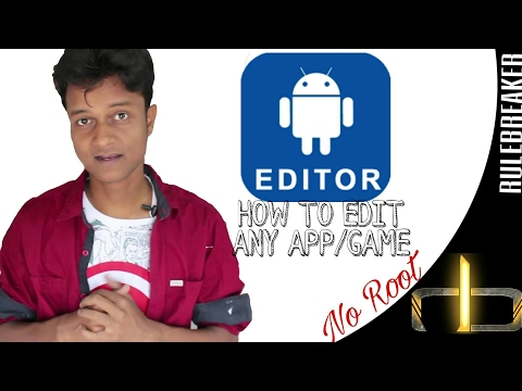 How To Edit Any App/game (No Root)