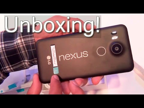 First Nexus 5X Unboxing