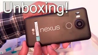 Nexus 5X Unboxing And Hands On Review