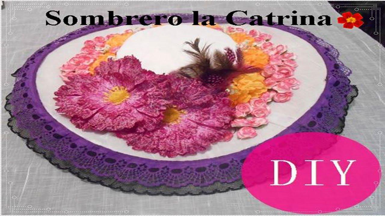 Sombreros De Catrina Cómo Hacer Videos Y Fotos Catrinas10