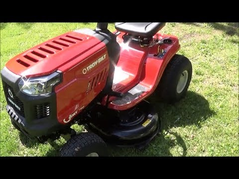 "Troy-Bilt Pony 17.5-HP Manual 42"" 500cc Cutting Deck Riding Lawn Mower 13AN77BS011 Lowes 806305"