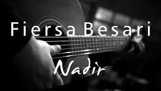 Fiersa Besari - Nadir ( Acoustic Karaoke )