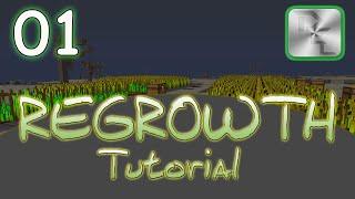 Minecraft Regrowth Modpack - Regrowth Tutorial Series - Ep 1 - Agricraft Tutorial