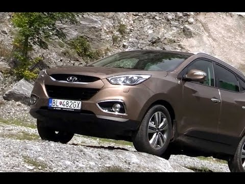 Hyundai ix35 4X4 preview and off-road ride