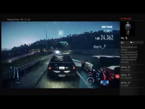 Need for Speed  Live PS4 Broadcast
