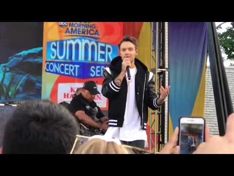 Zedd ft. Liam Payne - Get Low (Live - GMA Soundcheck) 07/21/17