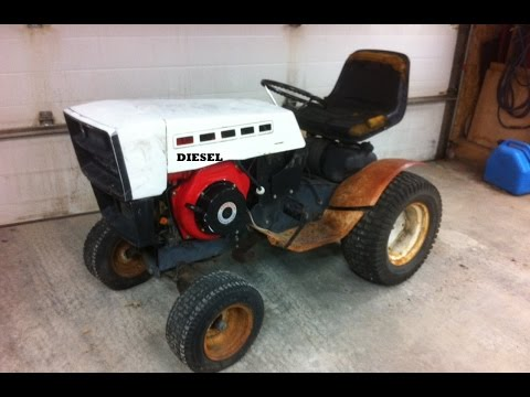 10HP Diesel Garden Tractor ***Build Part 1***